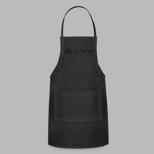 din is noise T-shirt for Women - Adjustable Apron