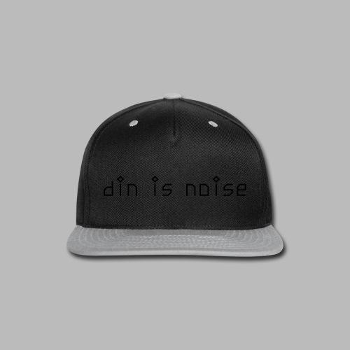 din is noise T-shirt for Women - Snap-back Baseball Cap