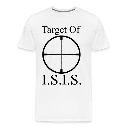 Target of ISIS - Men's - Men's Premium T-Shirt