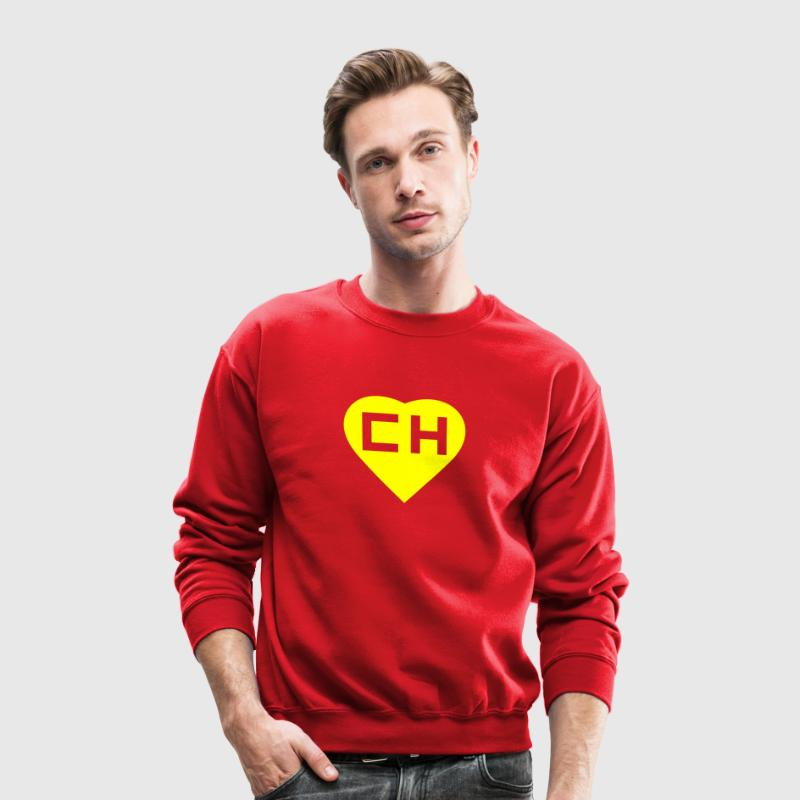 chapulin colorado Long Sleeve Shirts - Crewneck Sweatshirt