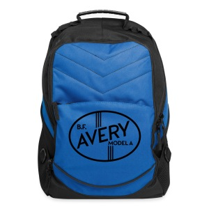 B.F. Avery Model A emblem - Computer Backpack