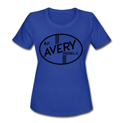 B.F. Avery Model A emblem - Women's Moisture Wicking Performance T-Shirt