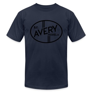 B.F. Avery Model A emblem - Men's Fine Jersey T-Shirt