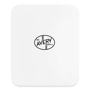 B.F. Avery Model A emblem - Mouse pad Vertical