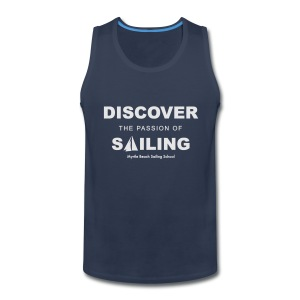 Discover Sailing MBSS Mens Short Sleeve T-Shirt - Front Only - Men's Premium Tank