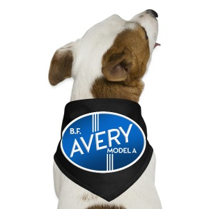 B.F. Avery Model A emblem - Dog Bandana