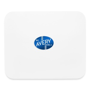 B.F. Avery Model A emblem - Mouse pad Horizontal
