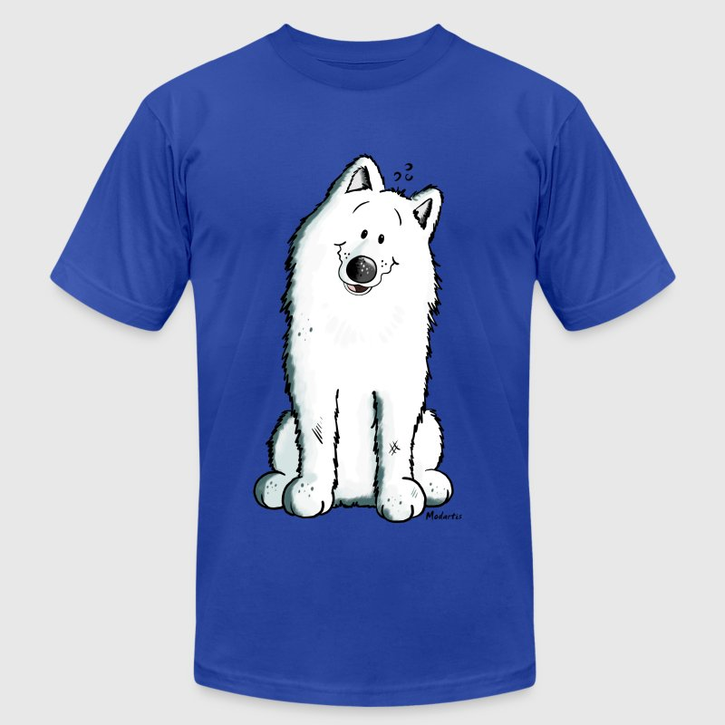 Cute Samoyed T-Shirts - Men's T-Shirt by American Apparel