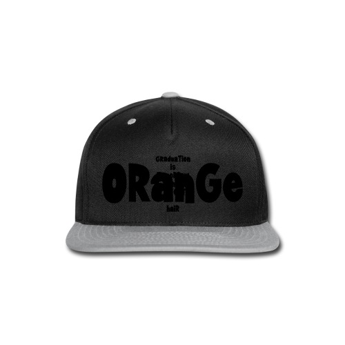 Orange-hair Graduation (m) - Snap-back Baseball Cap