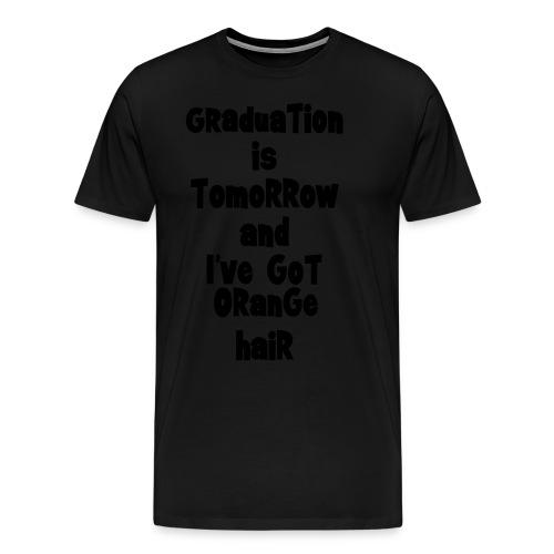 Orange-hair Graduation (m) - Men's Premium T-Shirt