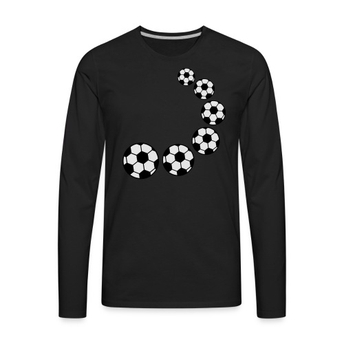 SOCCERTEST - Men's Premium Long Sleeve T-Shirt