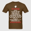 Veteran Retired Badass - Men's T-Shirt