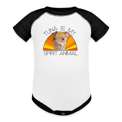 Tina Is My Spirit Animal - Contrast Baby Bodysuit