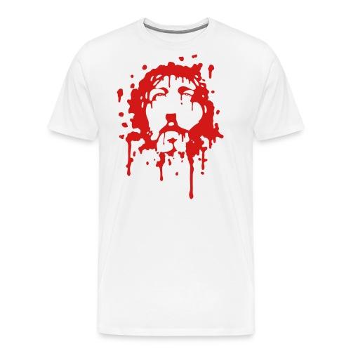 Jesus in Blood - Men's Premium T-Shirt