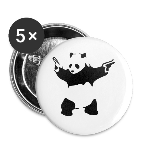 pandamove - Buttons small 1'' (5-pack)