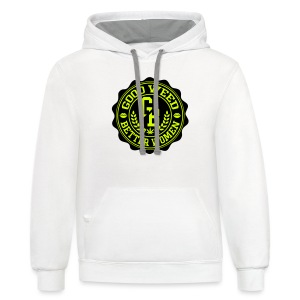 BEST OF BOTH WORLDS - Contrast Hoodie