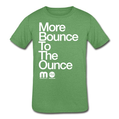 Kids' More Bounce Tp The Ounce - Kid's Tri-Blend T-Shirt