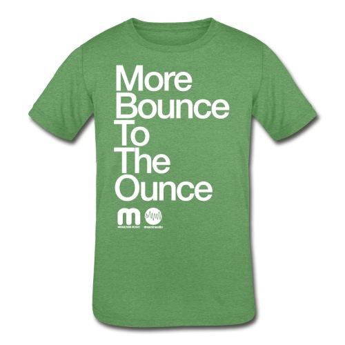 Kids' More Bounce Tp The Ounce - Kids' Tri-Blend T-Shirt