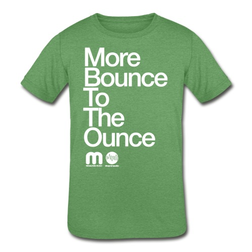 Kids' More Bounce Tp The Ounce - Kids' Tri-Blend T-Shirt