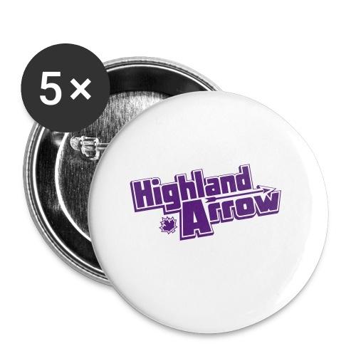 Men's HA Logo Zip Hoodie - Buttons small 1'' (5-pack)