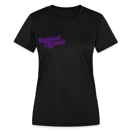 Men's HA Logo Zip Hoodie - Women's Moisture Wicking Performance T-Shirt