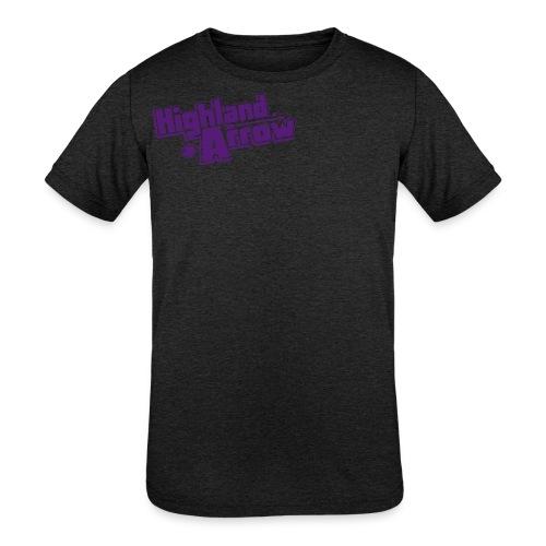 Men's HA Logo Zip Hoodie - Kids' Tri-Blend T-Shirt
