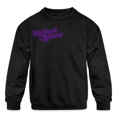 Men's HA Logo Zip Hoodie - Kids' Crewneck Sweatshirt
