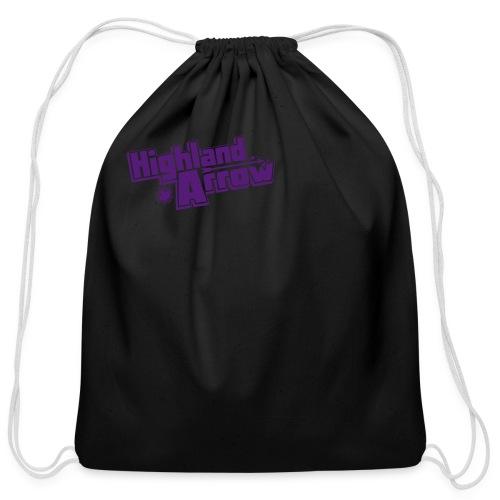Men's HA Logo Zip Hoodie - Cotton Drawstring Bag