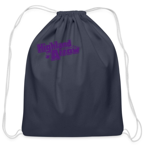 Men's HA Logo Zip Hoodie - Cotton Drawstring Bag