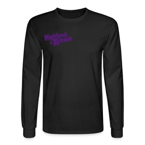 Men's HA Logo Zip Hoodie - Men's Long Sleeve T-Shirt