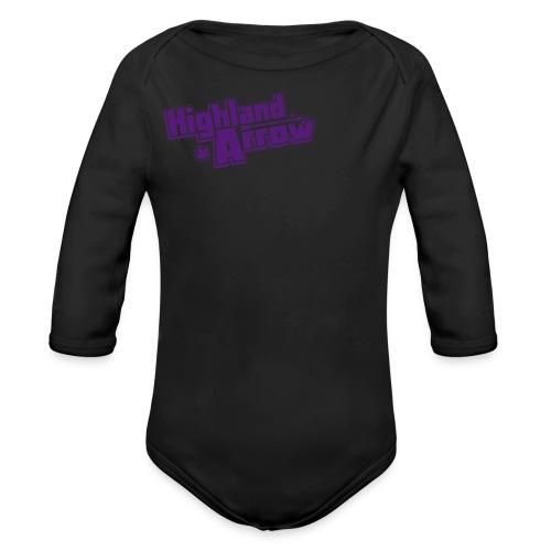 Men's HA Logo Zip Hoodie - Organic Long Sleeve Baby Bodysuit