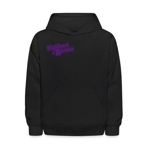 Men's HA Logo Zip Hoodie - Kids' Hoodie