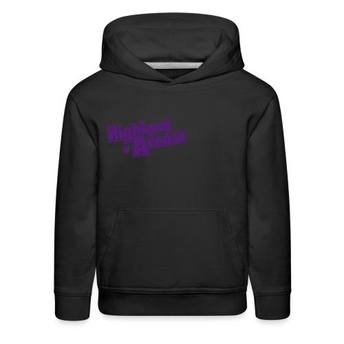 Men's HA Logo Zip Hoodie - Kids' Premium Hoodie