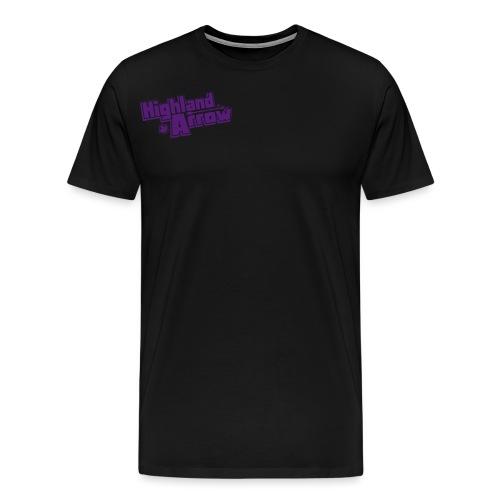 Men's HA Logo Zip Hoodie - Men's Premium T-Shirt