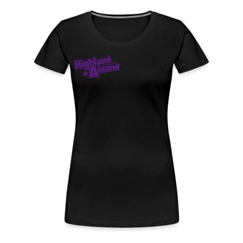 Men's HA Logo Zip Hoodie - Women's Premium T-Shirt