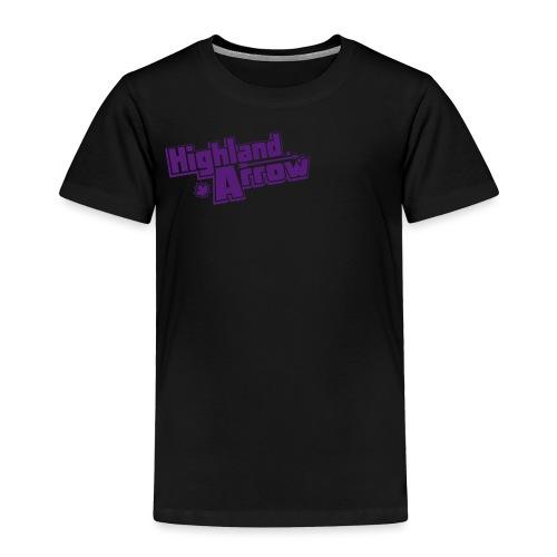 Men's HA Logo Zip Hoodie - Toddler Premium T-Shirt