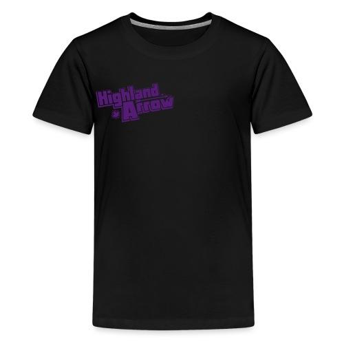 Men's HA Logo Zip Hoodie - Kids' Premium T-Shirt