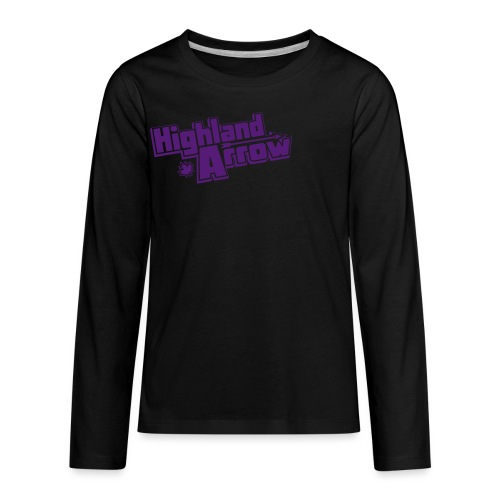 Men's HA Logo Zip Hoodie - Kids' Premium Long Sleeve T-Shirt