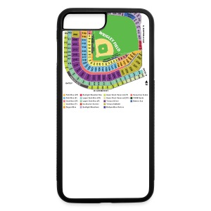 Wrigley Field Seating Chart - iPhone 7 Plus/8 Plus Rubber Case
