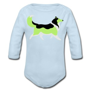 Sable Silhouette - Mens T-shirt - Long Sleeve Baby Bodysuit