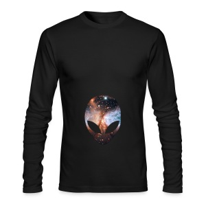 Alien Hoodie - Men's Long Sleeve T-Shirt by Next Level