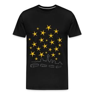 Coffins And Stars - Men's Premium T-Shirt
