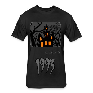 Haunted 1993 - Fitted Cotton/Poly T-Shirt by Next Level