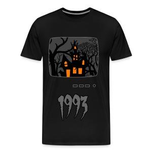 Haunted 1993 - Men's Premium T-Shirt