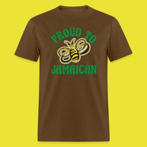 Proud To Bee Jamaican (men) - Men's T-Shirt