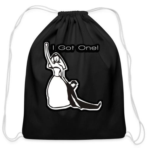 Funny I Got One - Cotton Drawstring Bag
