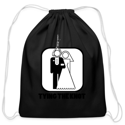 Tying the Knot - Cotton Drawstring Bag