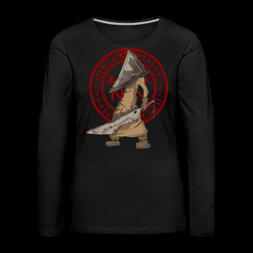 SilentNasty from Nick Nasty (Women) - Women's Premium Long Sleeve T-Shirt