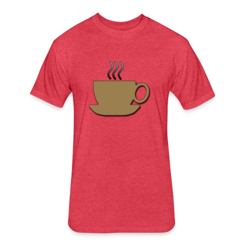 The Cup - Fitted Cotton/Poly T-Shirt by Next Level