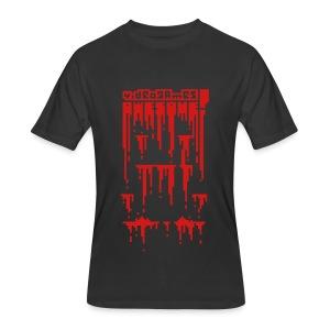 Bloody Buddy Red - Men's 50/50 T-Shirt